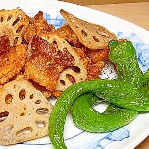 カリカリ豚肉の竜田揚げ/弁当おかずにおつまみに