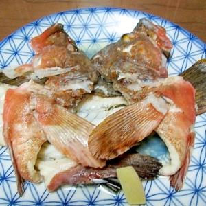 夏の魚の王様あこうの骨蒸し簡単Tヤン流