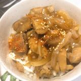 鶏サイコロステーキ丼
