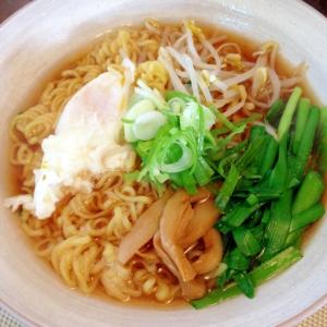 野菜たっぷり☆マルちゃん正麺醤油味