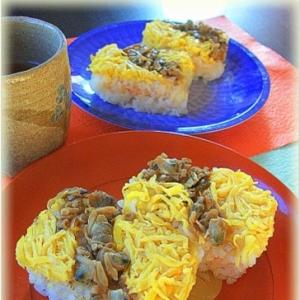 ☆★缶詰めで♪アサリの押し寿司★☆