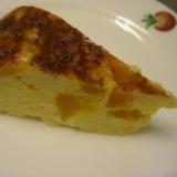 炊飯器で作る、かぼちゃのチーズケーキ