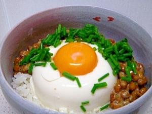 納豆豆腐丼