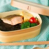 のり鮭弁当 Nori & Salmon Bento