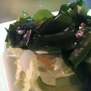 新玉ねぎのワカメサラダ