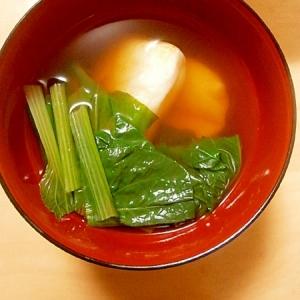 名古屋風、シンプルなお雑煮。