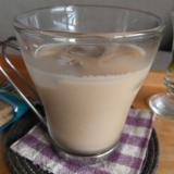 午後にゆっくり、きび糖カフェオレ