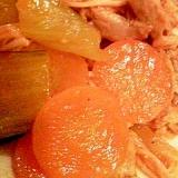 しらゆりポークヒレ肉のケチャプ煮