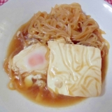 ♪糸こんと豆腐のすき焼き風煮物♪