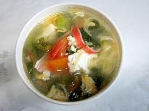 トマトの酸っぱいスープ
