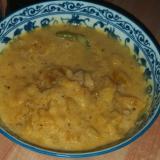フィリピン料理:カボチャのココナッツミルク煮