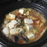 ピリ辛白味噌鍋