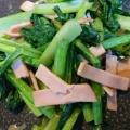 レンジで簡単☆小松菜のハム和え