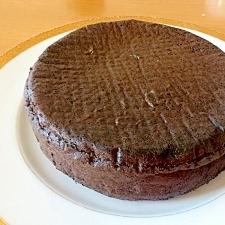 共立てでしっとりふかふかのココアスポンジケーキ
