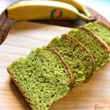 栄養満点!グリーンスムージーのパウンドケーキ