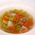 フェンネルが香る、野菜コンソメスープ