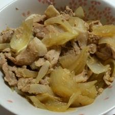豚の生姜煮☆
