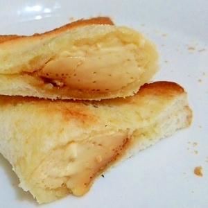 食パンとプリンで簡単 カスタードパイ風プリンパイ