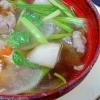 野菜たっぷり☆ 牛肉醤油味「山形風芋煮」