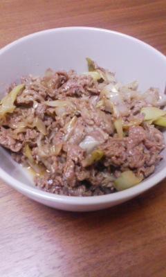 簡単5分! 牛肉と長ネギの炒め物