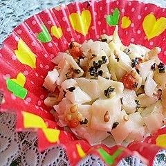 捨てずにお弁当~♪キャベツの芯サラダ