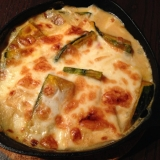 カボチャと豆腐の和風グラタン