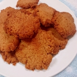 ココナッツオイルと低糖HMの塩ペッパークッキー