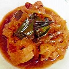 ごはんに合う☆鶏肉と長ねぎ&玉ねぎの甘辛煮♪