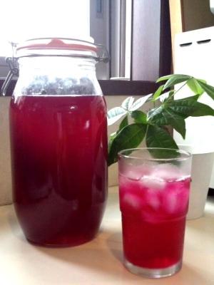 赤紫蘇ジュースのシロップ♪