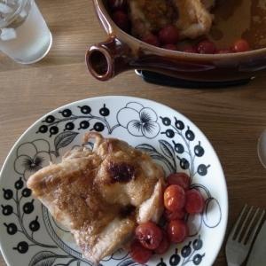 チキンと★プチトマトの★オーブン焼き