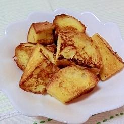 コロコロ♪フランスパンdeフレンチトースト