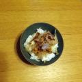 鰹節のせ納豆ご飯