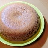 ホットケーキミックスと炊飯器で板チョコケーキ