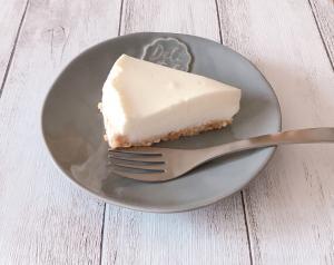 ヨーグルトでレアチーズケーキ風