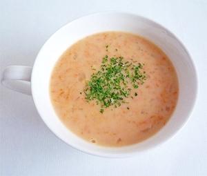 すりおろしにんじんのポタージュスープ