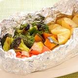グリルで焼き野菜~ハーブソルトをかけるだけ!~