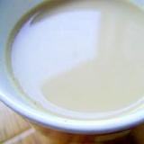 料理に使った豆乳が余ったら… ソイ ラテ