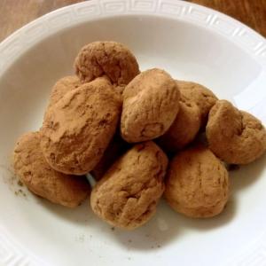 ココアで作る、簡単おいしい、イチジクチョコ?