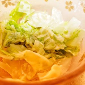 白菜のランチドレッシング風サラダ