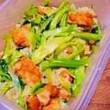 太っちょ☆アスパラ菜の茎の炒め煮