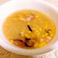 春雨コーンスープ
