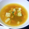 かぶとかぼちゃとセロリの中華スープ