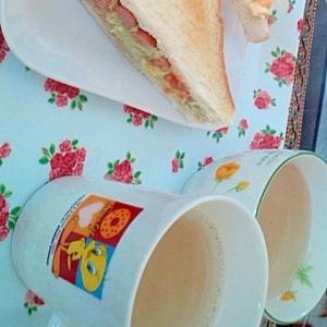 具だくさん カフェ風☆サンドウィッチ