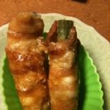 お弁当のおかず   甘辛豚バラのアスパラ巻