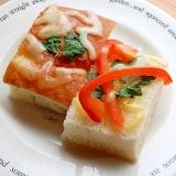 フォカッチャで❤イタリアンパセリ&パプリカトースト