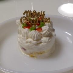 *:☆ 離乳食・クリスマスケーキ ☆:*
