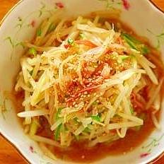 ◆ポン酢を使って簡単◆もやしの中華風和え物◆