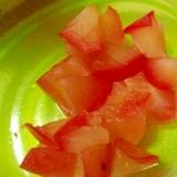 5分でりんごの甘煮