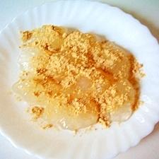 わらび餅粉で、レンジで作ちゃおう(全工程写真あり)