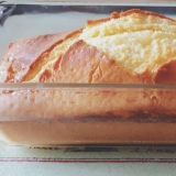 生クリームキャラメルソースパウンドケーキ